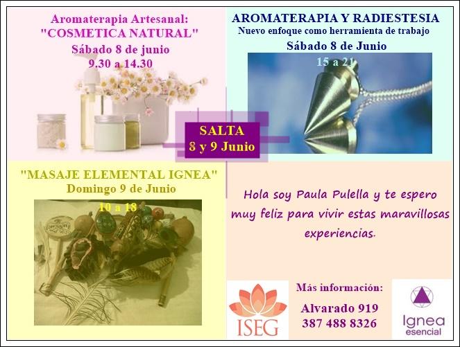 Talleres de Aromaterapia en Salta