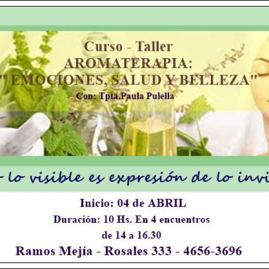 """Taller de AROMATERAPIA: """"EMOCIONES, SALUD y BELLEZA NATURAL"""""""