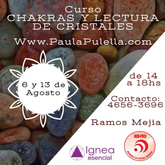 Curso- Chakras y Lectura de Cristales