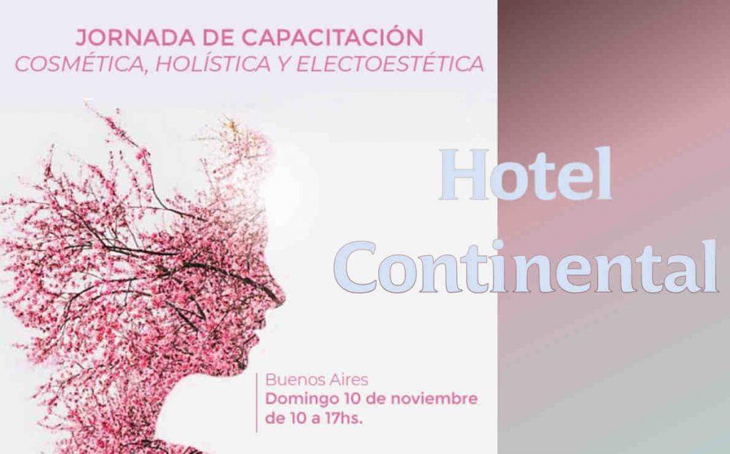 Jornada de Capacitación Holística, Cosmética y Electroestética Domingo 10 de Noviembre