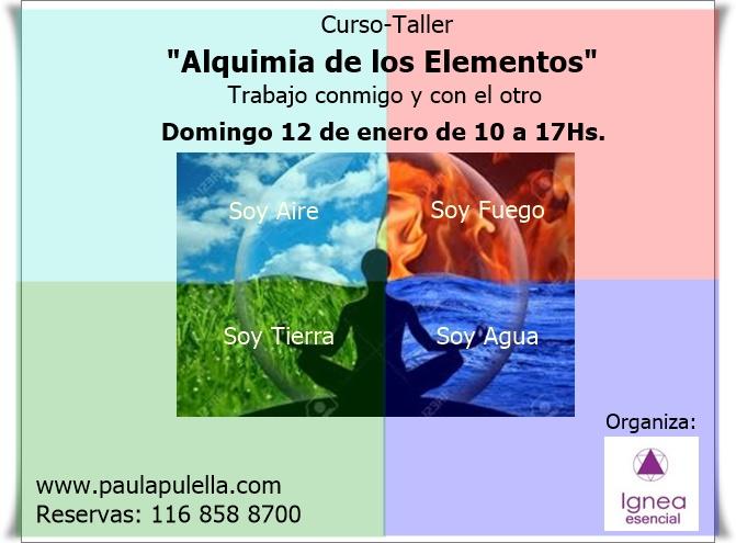 Curso - Taller Alquímia de los Elementos
